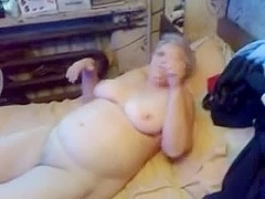 Watch my old bitch self satisfying. Amateur