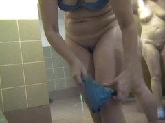 Hot Russian Shower Room Voyeur Video  61
