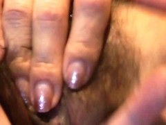 Wife being fingered and fucked by her horny husband