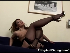 Leanna Sweet in Piss Finale - FilthyAndFisting