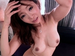 Exotic Japanese chick Kaori in Incredible JAV censored POV, Hairy clip
