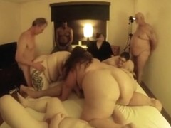 Bbw groupsex party part 2