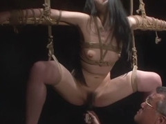 Exotic Japanese girl Hitomi Shirai in Incredible masturbation, bdsm JAV clip