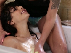 Nina Elle, Gina Valentina In The Feral Women 2