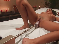 Horny big tits, fetish porn movie with exotic pornstar Charley Chase from Fuckingmachines