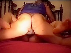 Hairy wife bet cheating quickie neighbor housewife