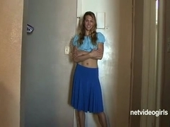 Daisy's Calendar Audition - netvideogirls