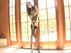Busty Brandi Edwards in stockings nailed well