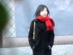 Young Japanese sweetie in the center of amazing sharking odyssey