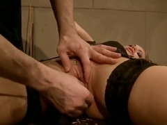 Bondage with Martina Rodhes chained & banged