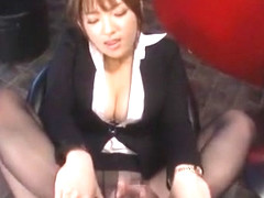 Incredible Japanese girl Shiori Kamisaki in Fabulous Foot Job/Ashifechi JAV movie