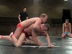 NakedKombat Spencer Reed vs Dustin Michaels and Karter James