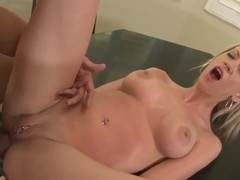 Very handsome girl Jewell Marcean is enjoying hot and passionate fuck with her strong and tight co.
