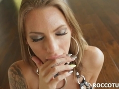 Rough anal fucking with huge cock Rocco