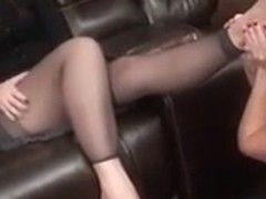 Catholic Beauty Foot Worshiped and Tickled