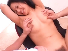 Horny Japanese chick Sora Aoi in Exotic Threesomes, Big Tits JAV video