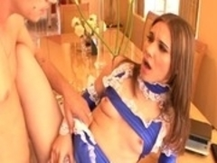Exotic pornstar Dakoda Brookes in horny blowjob, brunette porn scene