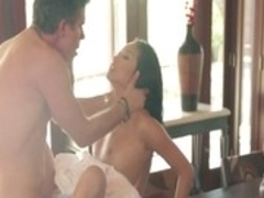 Best pornstar Alina Li in fabulous cunnilingus, old and young sex scene