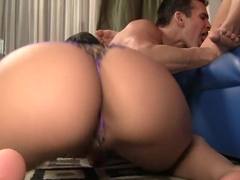 Horny pornstars Charley Chase and Alexia Rae in amazing creampie, cumshots xxx clip