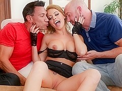 Britney Amber, Marco Banderas, Will Powers in DP My Wife With Me #06,  Scene #01