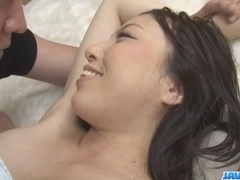 Ayane Okura amazes with her tight pussy and mouth