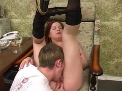 Homemade video presents Russian sexual leisure