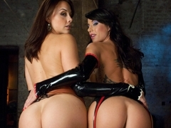 Incredible fetish, anal porn movie with horny pornstars James Deen, Gia DiMarco and Chanel Preston.