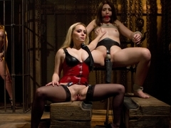 Hottest anal, fetish adult clip with horny pornstars Aiden Starr, Kelly Divine and Sarah Shevon fr.