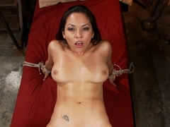 Exotic fetish adult scene with hottest pornstars Adrianna Luna and Mickey Mod from Dungeonsex