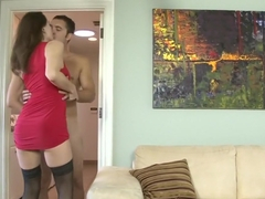 Hottest pornstar Nora Noir in best big tits, blowjob sex clip