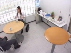 Japanese hot office fuck
