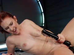 Hottest fetish porn video with horny pornstar Melody Jordan from Fuckingmachines
