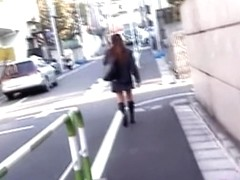 Street sharking odyssey with amorous slutty chick being nicely tricked