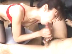 Hottest Japanese whore in Incredible Stockings/Pansuto, Lingerie JAV movie