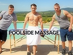 Poolside Massage XXX Video