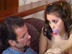 British MILF Nici Stirling in a FFMM foursome in nylons