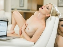 Charlotte Stokely & Lexi Belle in Under Surveillance Video