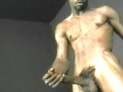 Gay Black Guy Giving It To Himself