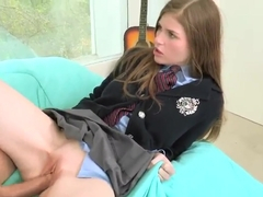 Teen hottie Lara Brookes fucks with Bruce Venture
