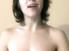 Hawt wife milking ding-cock and making it cum