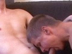 Best male pornstar Lucas Ice in horny twinks, blowjob gay sex clip