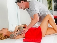 Sarah Jessie & Jack Vegas in Tickle And Tease Video