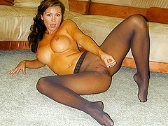 Pantyhose Teaser and Ball Drainer