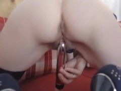 Amateur gf self pleasuring with toy
