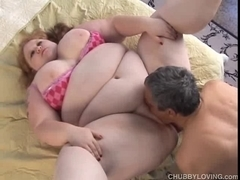 Agreeable large marangos redhead big beautiful woman can't live without to fuck