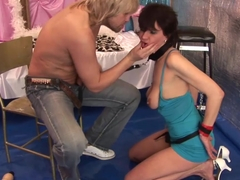 stepmoms first anal fisting lesson