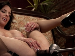 Hottest milf, squirting xxx clip with amazing pornstar Veronica Avluv from Fuckingmachines