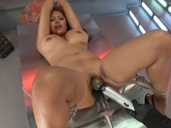 Incredible fetish sex movie with exotic pornstar Baylee Lee from Fuckingmachines