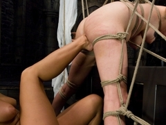 Best fetish sex scene with exotic pornstars Sandra Romain and Princess Donna Dolore from Wiredpussy