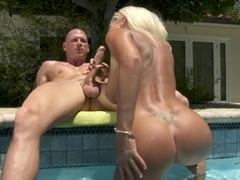 Pool Boy, Let Me Try Out Your Cock
